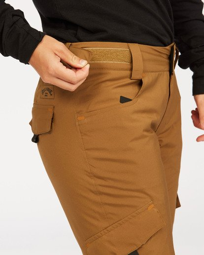 6 Adventure Division Collection Nela - Pantalones para nieve para Mujer Marron U6PF21BIF0 Billabong