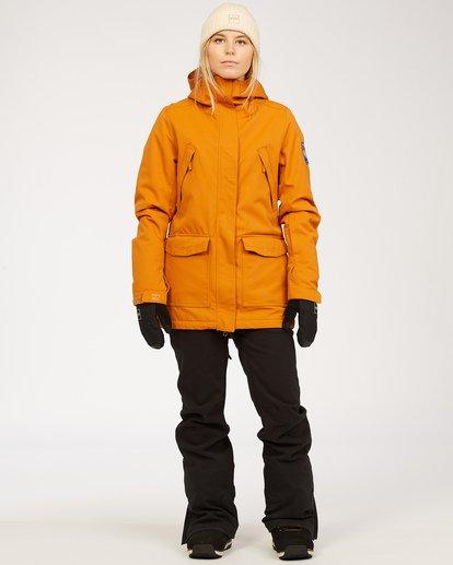 1 Riva - Pantalones para nieve para Mujer Negro U6PF22BIF0 Billabong
