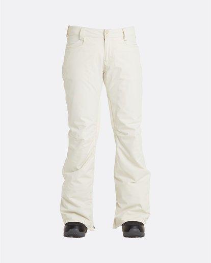 6 Terry - Snow Pants for Women White U6PF23BIF0 Billabong