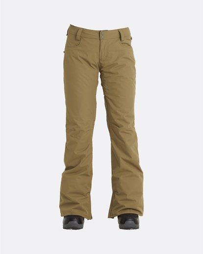 6 Terry - Snow Pants for Women Green U6PF23BIF0 Billabong