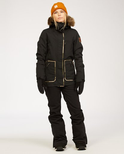 1 Terry - Schneehose für Frauen Schwarz U6PF23BIF0 Billabong