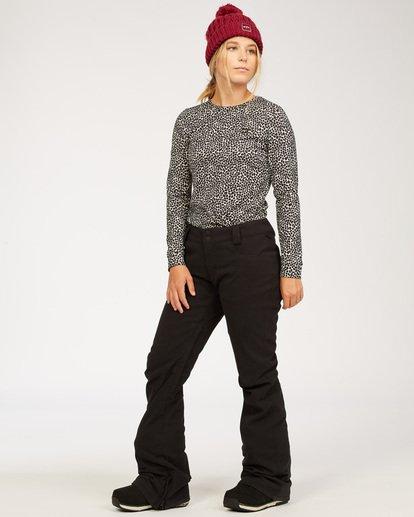 3 Terry - Pantalones para nieve para Mujer Negro U6PF23BIF0 Billabong