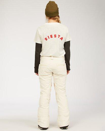 2 Terry - Snow Pants for Women White U6PF23BIF0 Billabong