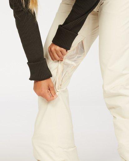 4 Terry - Snow Pants for Women White U6PF23BIF0 Billabong