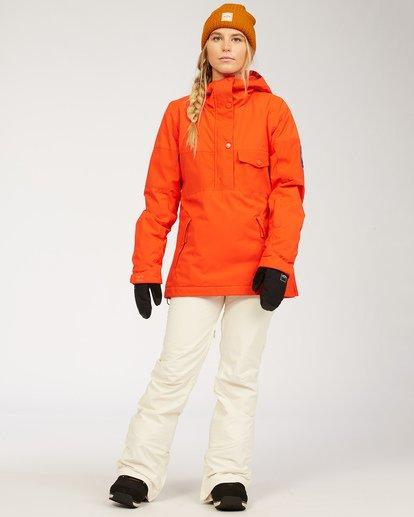3 Terry - Snow Pants for Women White U6PF23BIF0 Billabong