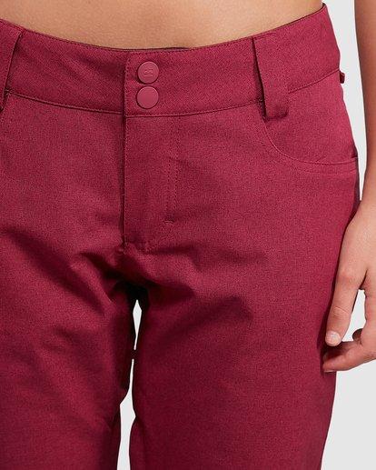 5 Terry Pants Red U6PF23S Billabong
