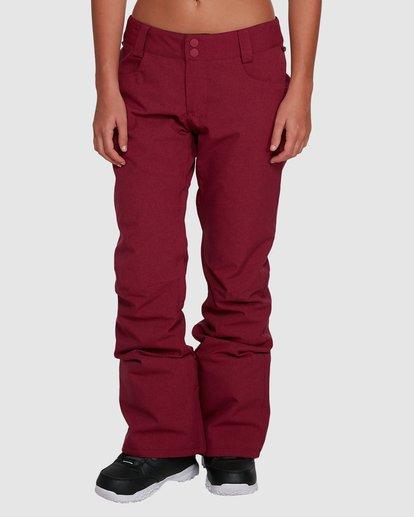 3 Terry Pants Red U6PF23S Billabong