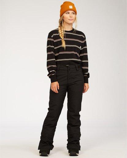 0 Malla - Pantalones para nieve para Mujer Negro U6PF24BIF0 Billabong