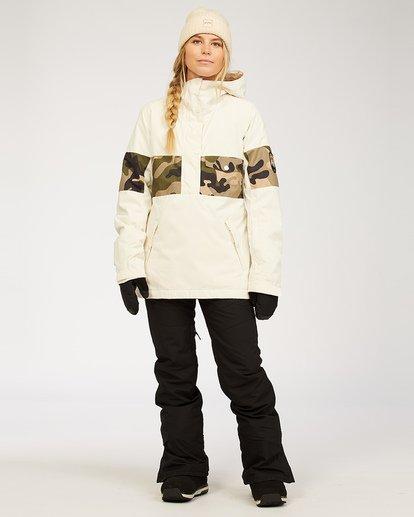 1 Malla - Schneehose für Frauen Schwarz U6PF24BIF0 Billabong