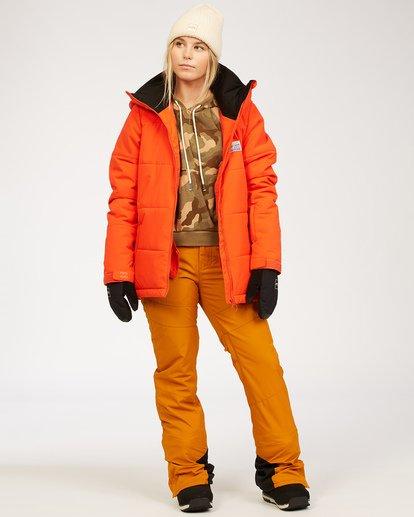 1 Malla - Schneehose für Frauen Braun U6PF24BIF0 Billabong