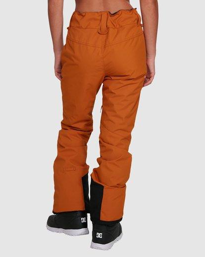 4 Malla Pants Brown U6PF24S Billabong