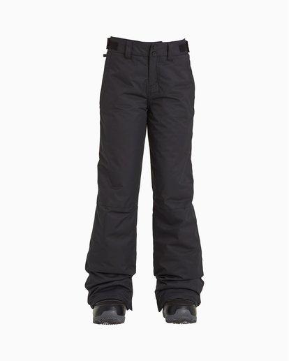 0 Alue - Pantalones para nieve para Chicas Negro U6PG20BIF0 Billabong
