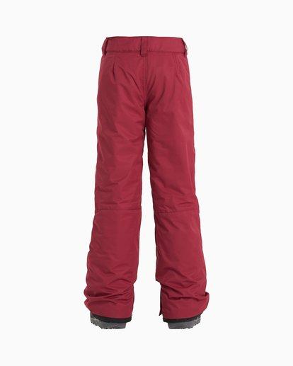 1 Alue - Snow Pants for Girls Red U6PG20BIF0 Billabong