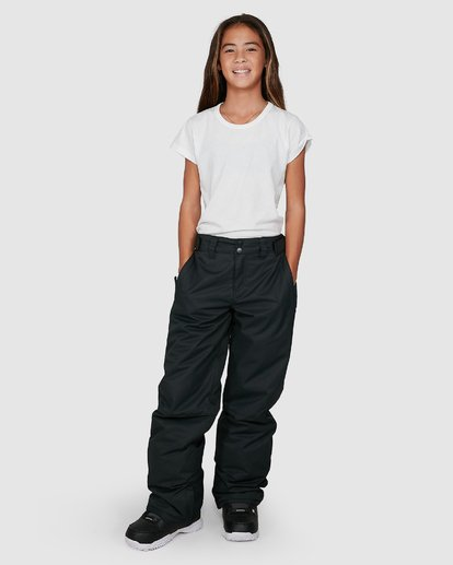 6 Girls Alue Pants Black U6PG20S Billabong