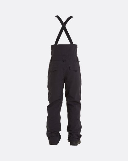 10 Adventure Division Collection North West Stx - Pantalón peto para nieve para Hombre Negro U6PM20BIF0 Billabong