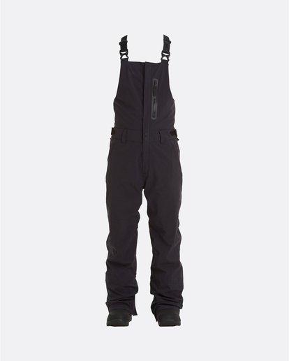 9 Adventure Division Collection North West Stx - Pantalón peto para nieve para Hombre Negro U6PM20BIF0 Billabong
