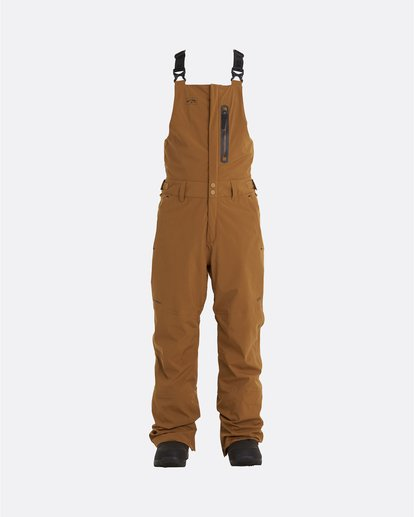 9 Adventure Division Collection North West Stx - Pantalón peto para nieve para Hombre Marron U6PM20BIF0 Billabong