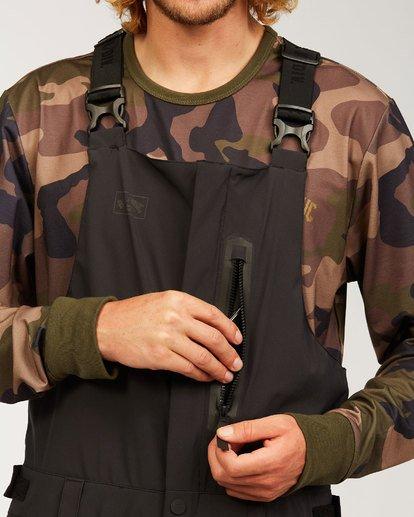 2 Adventure Division Collection North West Stx - Pantalón peto para nieve para Hombre Negro U6PM20BIF0 Billabong