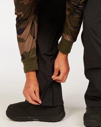 7 Adventure Division Collection North West Stx - Pantalón peto para nieve para Hombre Negro U6PM20BIF0 Billabong