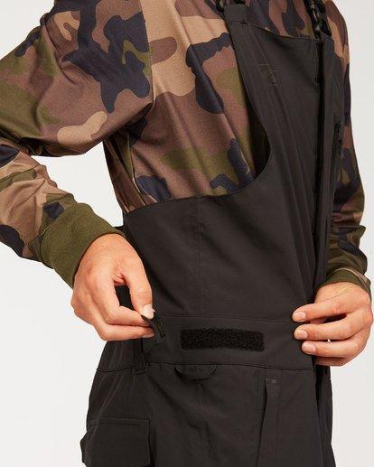 8 Adventure Division Collection North West Stx - Pantalón peto para nieve para Hombre Negro U6PM20BIF0 Billabong