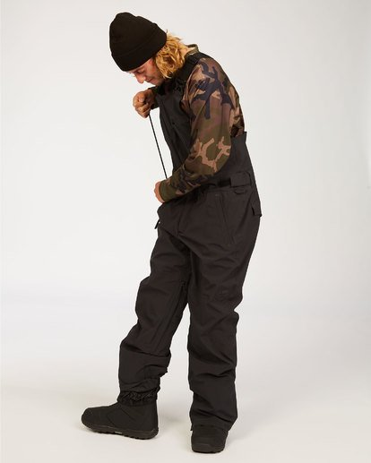 1 Adventure Division Collection North West Stx - Pantalón peto para nieve para Hombre Negro U6PM20BIF0 Billabong