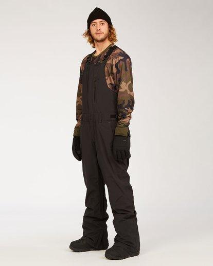 4 Adventure Division Collection North West Stx - Pantalón peto para nieve para Hombre Negro U6PM20BIF0 Billabong