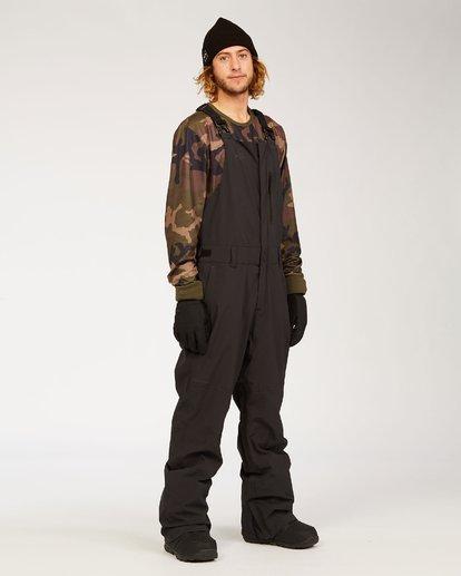 5 Adventure Division Collection North West Stx - Pantalón peto para nieve para Hombre Negro U6PM20BIF0 Billabong