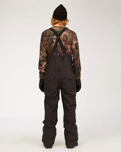 6 Adventure Division Collection North West Stx - Pantalón peto para nieve para Hombre Negro U6PM20BIF0 Billabong