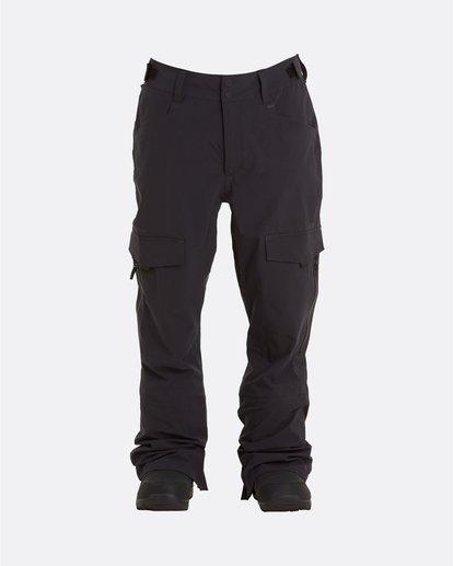 6 Adventure Division Collection Ascent Stx - Snow Pants for Men Black U6PM21BIF0 Billabong