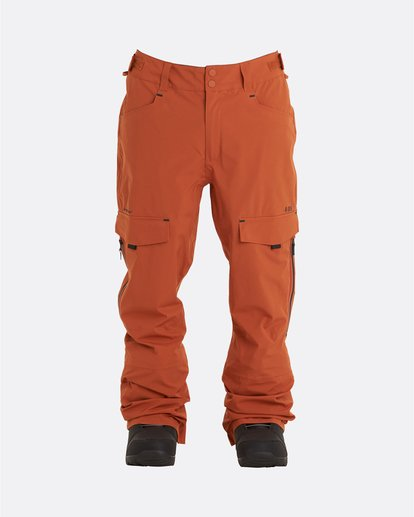 7 Adventure Division Collection Ascent Stx - Pantalones para nieve para Hombre  U6PM21BIF0 Billabong