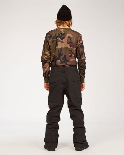 2 Adventure Division Collection Ascent Stx - Snow Pants for Men Black U6PM21BIF0 Billabong