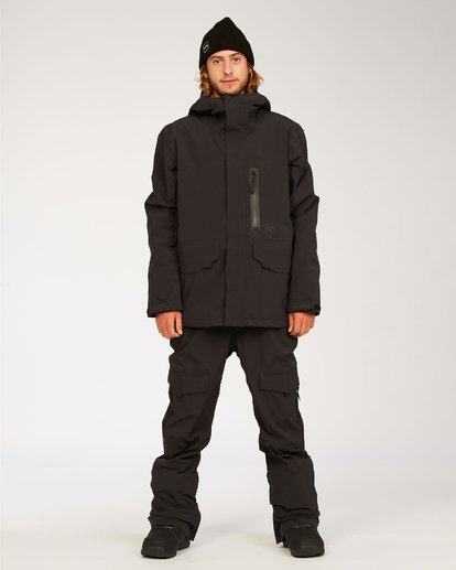 3 Adventure Division Collection Ascent Stx - Snow Pants for Men Black U6PM21BIF0 Billabong
