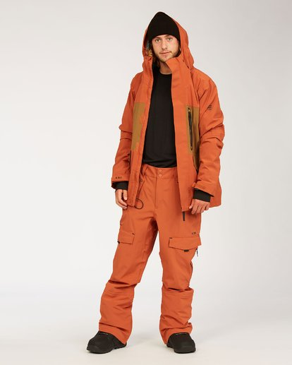 5 Adventure Division Collection Ascent Stx - Pantalones para nieve para Hombre  U6PM21BIF0 Billabong