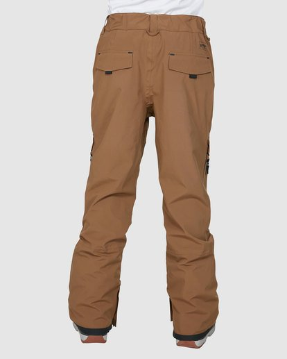2 Ascent SympaTex Pants Brown U6PM21S Billabong