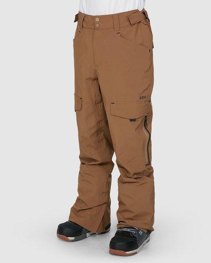 1 Ascent SympaTex Pants Brown U6PM21S Billabong