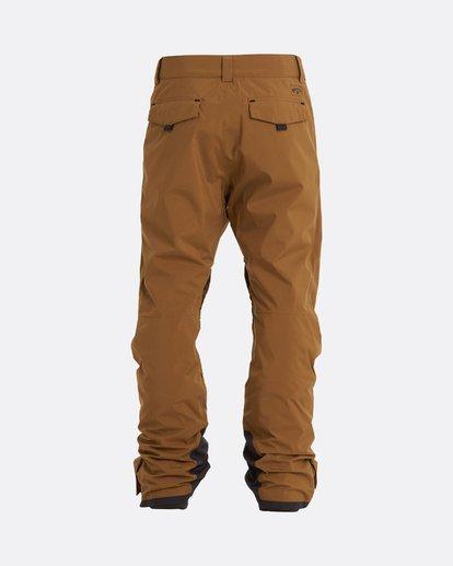 1 Adventure Division Collection Compass - Snow Pants for Men Brown U6PM22BIF0 Billabong