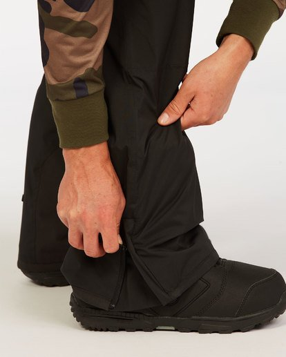 5 Adventure Division Collection Compass - Snow Pants for Men Black U6PM22BIF0 Billabong