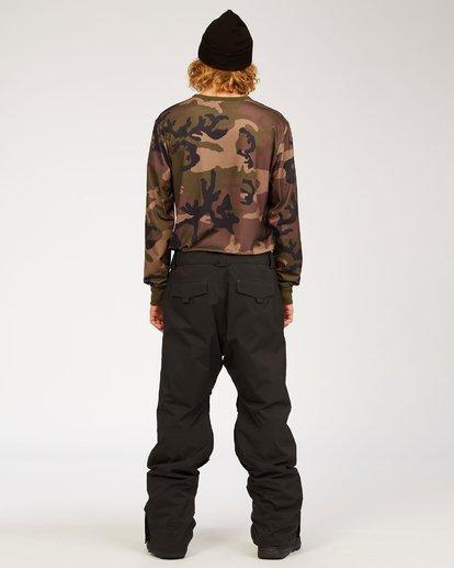 2 Adventure Division Collection Compass - Snow Pants for Men Black U6PM22BIF0 Billabong