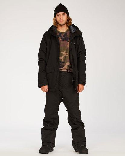 3 Adventure Division Collection Compass - Snow Pants for Men Black U6PM22BIF0 Billabong