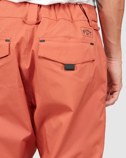 3 Compass Pants Orange U6PM22S Billabong