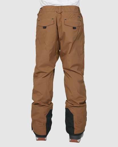 2 Compass Pants Brown U6PM22S Billabong