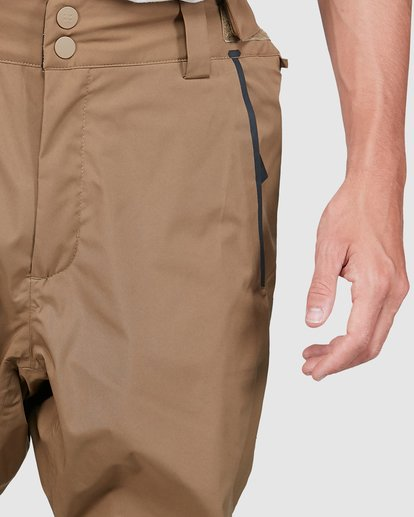 3 Compass Pants Brown U6PM22S Billabong