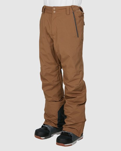 1 Compass Pants Brown U6PM22S Billabong