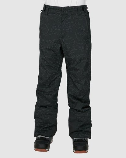 0 Compass Pants Black U6PM22S Billabong