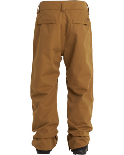 1 Tuck Knee - Snow Pants for Men Brown U6PM23BIF0 Billabong