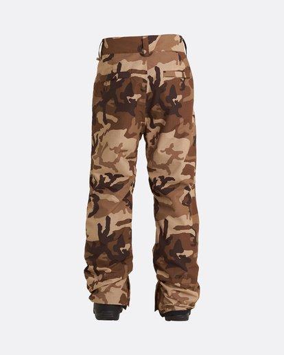 1 Tuck Knee - Snow Pants for Men  U6PM23BIF0 Billabong