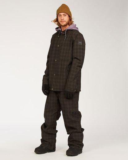 1 Tuck Knee - Pantalones para nieve para Hombre  U6PM23BIF0 Billabong
