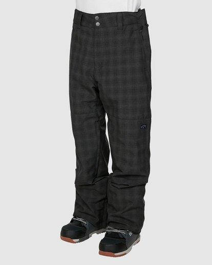 1 Tuck Knee Pants Black U6PM23S Billabong