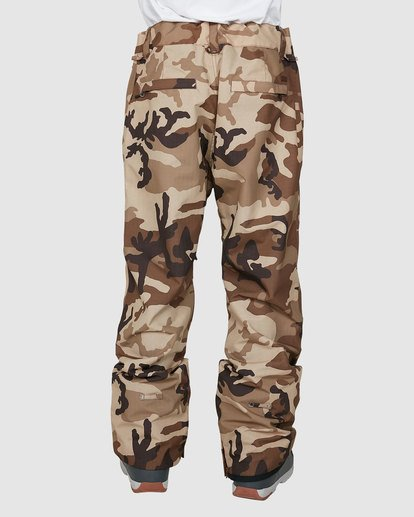 2 Tuck Knee Pants Camo U6PM23S Billabong