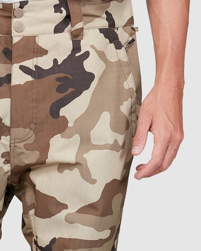 3 Tuck Knee Pants Camo U6PM23S Billabong